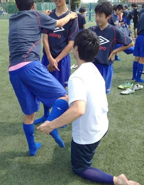 常葉橘中学サッカー部の初回サポート報告7