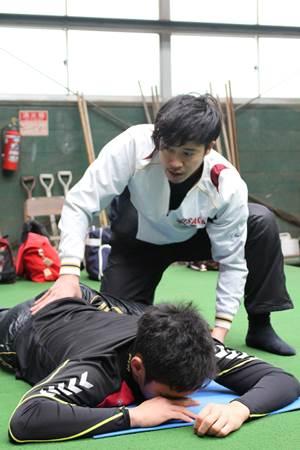 JARTAトレーナー活動|プロ野球選手の自主トレ 西田直斗3