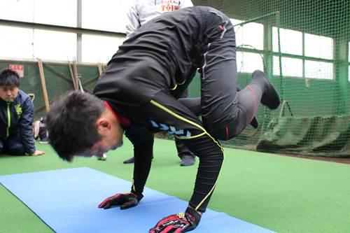 JARTAトレーナー活動|プロ野球選手の自主トレ 西田直斗7