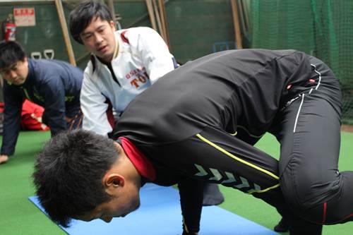 JARTAトレーナー活動|プロ野球選手の自主トレ 西田直斗6