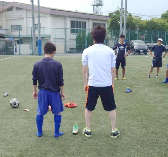 常葉橘中学サッカー部の初回サポート報告9