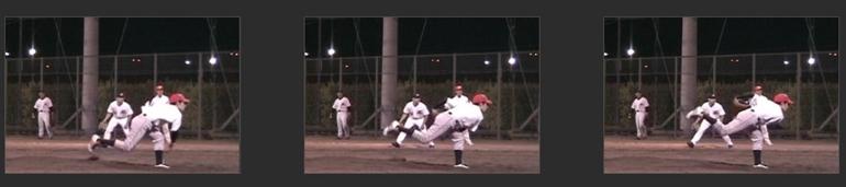 投球動作10