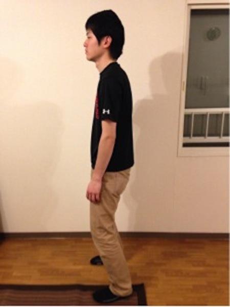 犬尾姿勢指導①