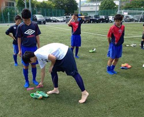 常葉橘中学サッカー部の初回サポート報告2