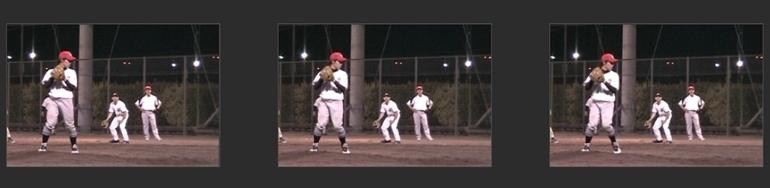 投球動作1