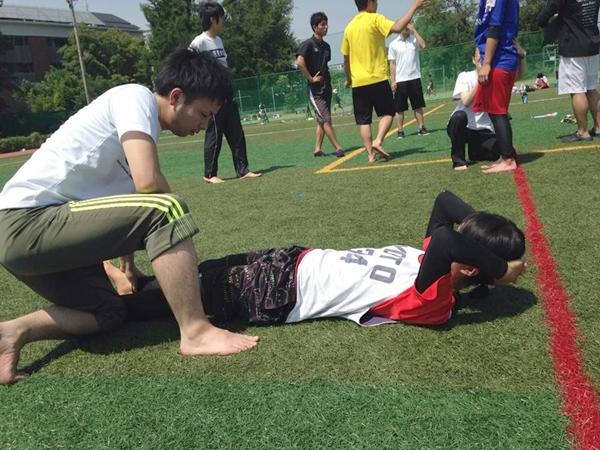 京都大学女子ラクロス部のトレーニングレポート4