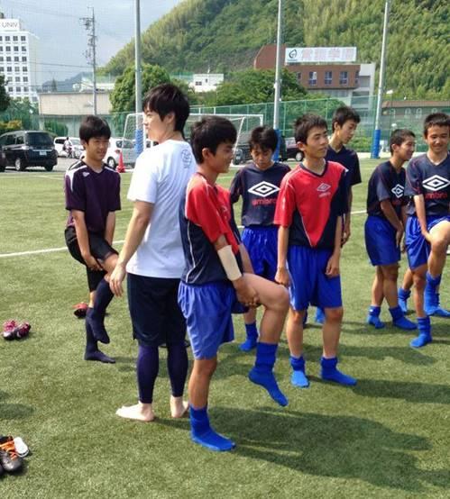 常葉橘中学サッカー部の初回サポート報告8