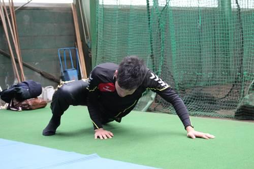 JARTAトレーナー活動|プロ野球選手の自主トレ 西田直斗10