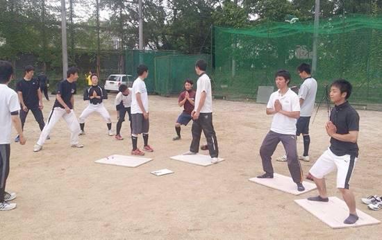 京都大学野球部トレーニングサポート2