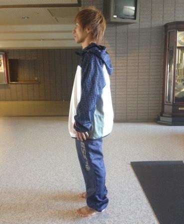 中村友亮選手(アグレミーナ浜松)のトレーニングサポートのご報告1