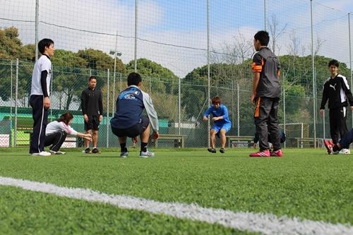 イタリア研修日本人選手トレーニング1