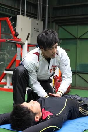 JARTAトレーナー活動|プロ野球選手の自主トレ 西田直斗4