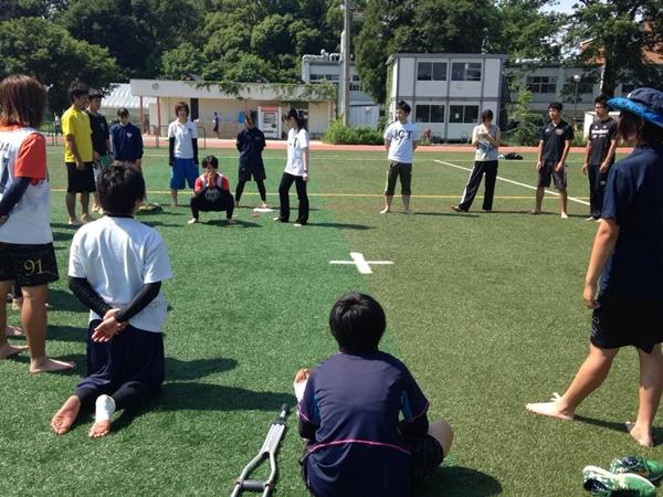 京都大学女子ラクロス部のトレーニングレポート2